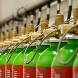 Gas Based Suppression System